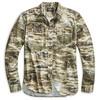 RRLの「プリント フランネル ワークシャツ」購入