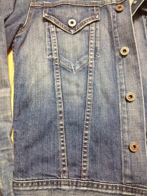 AGのデニムジャケット