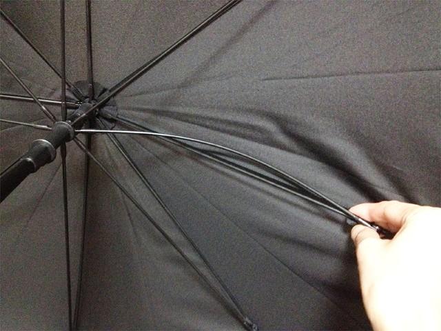 強風でも折れない傘