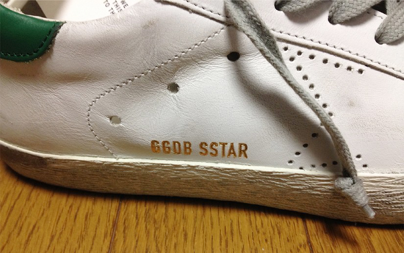 Golden Goose Deluxe Brandの「SUPER STAR」