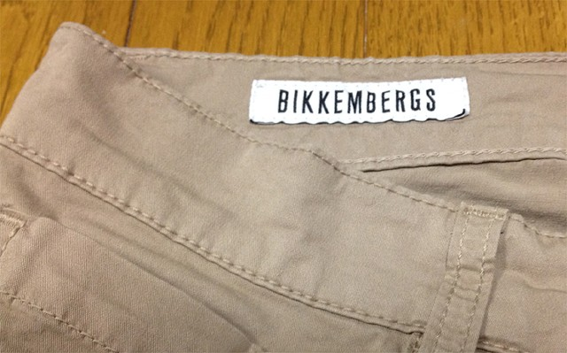 BIKKEMBERGSのパンツ