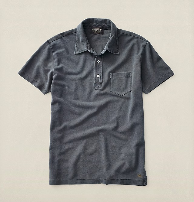 RRLの「コットン メッシュ ポロシャツ」