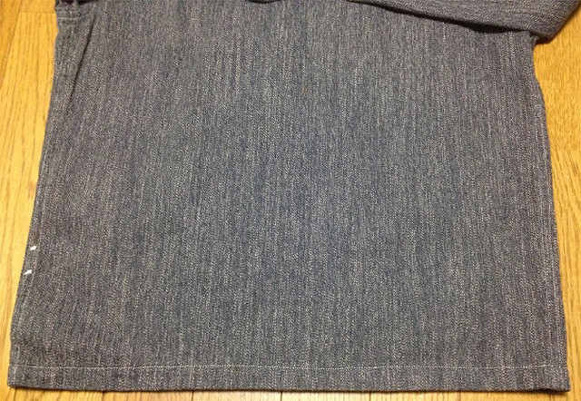 RRLの「コットン ジャスペ オーバーシャツ」