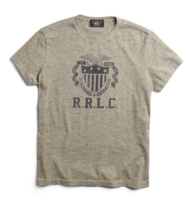 RRLの「コットンジャージーアスレチックTシャツ」
