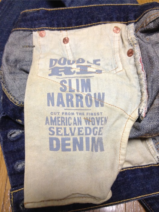 RRLの「スリム ナロー セルビッジ ジーンズ」