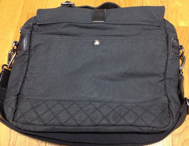 ラルフローレンの「キャンバスメッセンジャーバッグ」