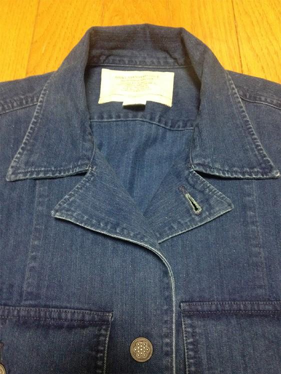 RRLの「インディゴ コットン オーバーシャツ」