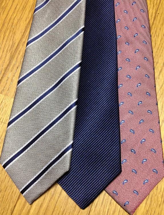 ネクタイの選びかた