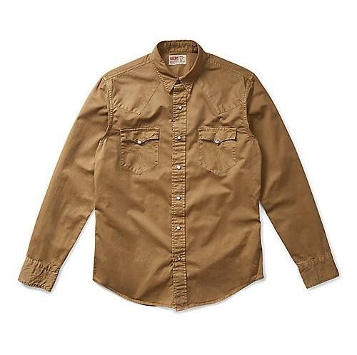 RRLの「コットン ツイル ウエスタン シャツ」