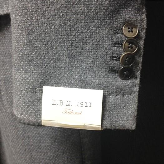 L.B.M.1911のチェスターコート