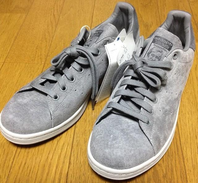 adidas STAN SMITH(グレー)