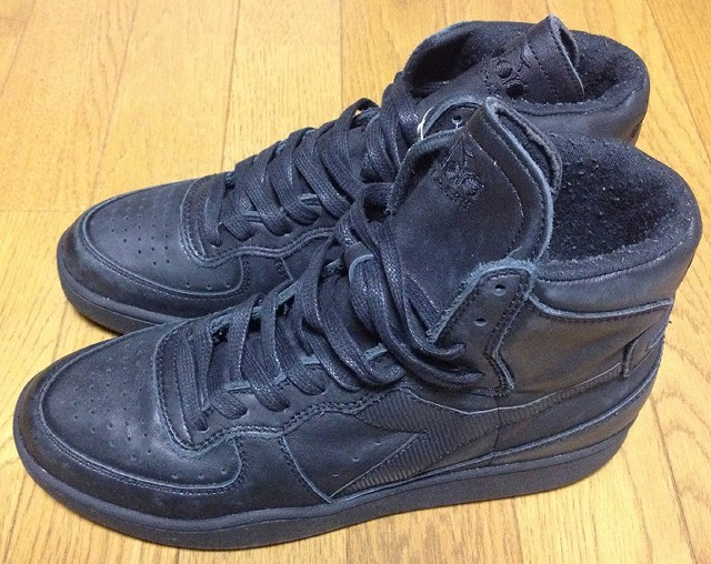 DIADORA HERITAGEのスニーカー「MI BASKET 84 USED」