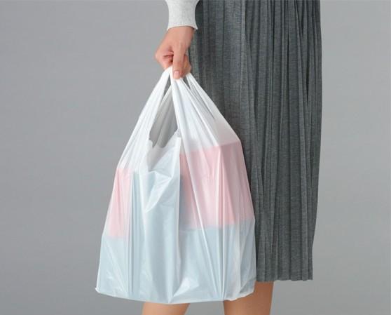 スーパーやコンビニのレジ袋をカッコよく持つ方法