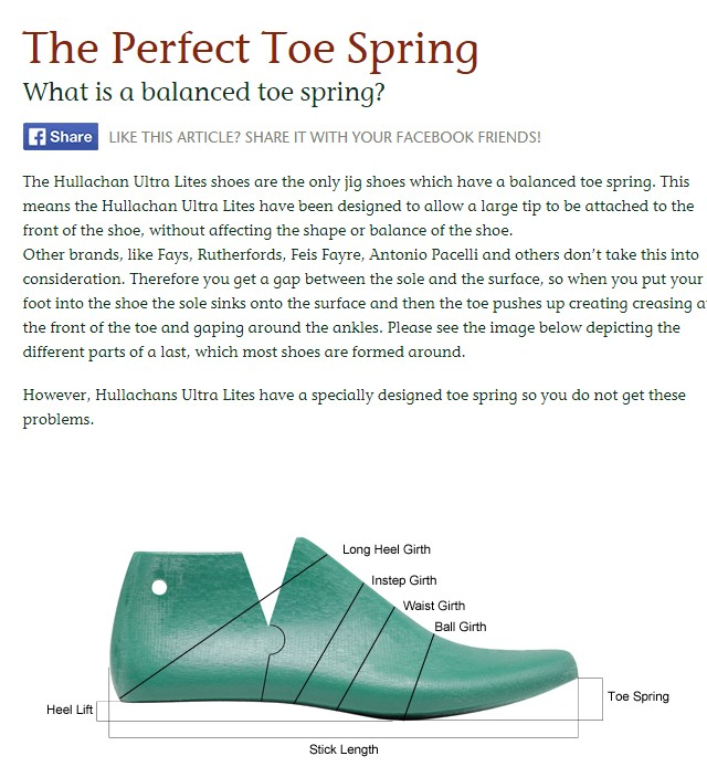 The Perfect Toe Spring