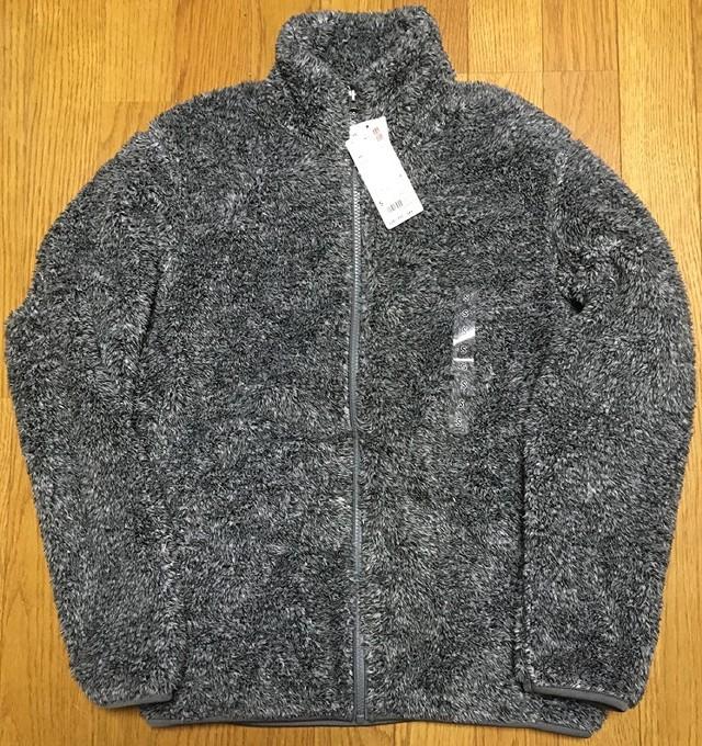 ユニクロの「ファーリーフリースフルジップジャケット」