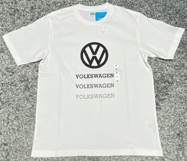 ユニクロの「ザ・ブランズ フォルクスワーゲン」Tシャツ